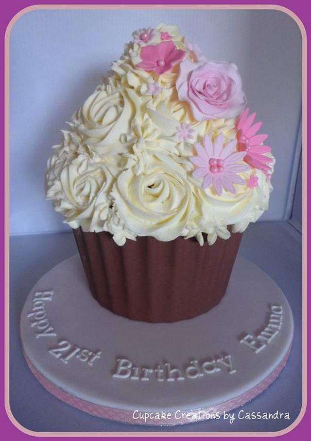 Gluten Free Giant Cupcake