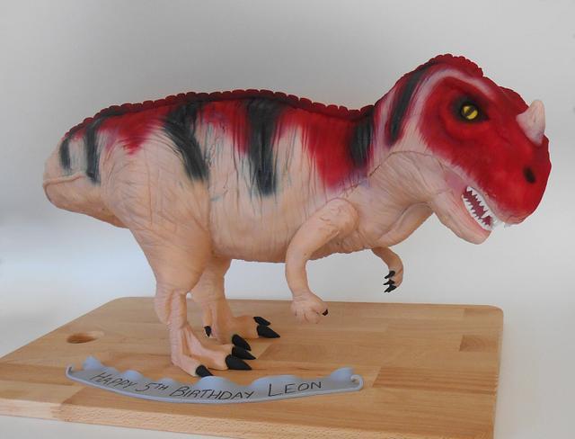 3D Toy Dinosaur Cake
