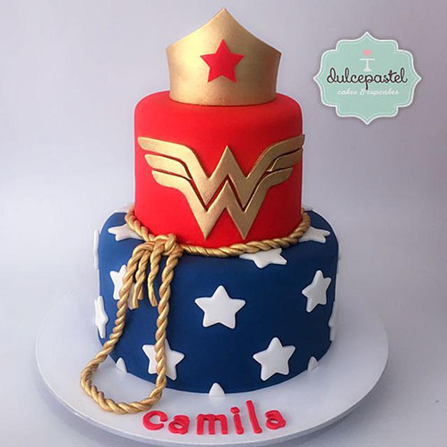 Torta Mujer Maravilla - Wonder Woman Cake