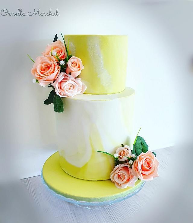 Wedding cake 💍💐