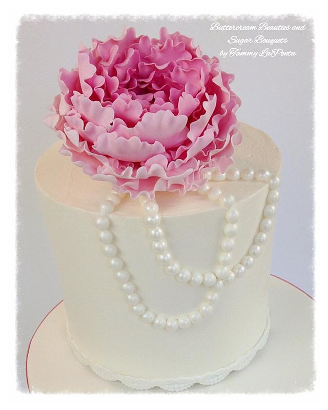 Lovely Little Vintage Buttercream Cake
