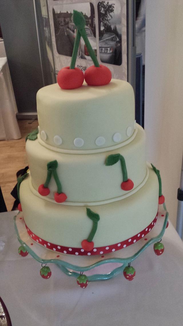 Cherries - alternative wedding cake