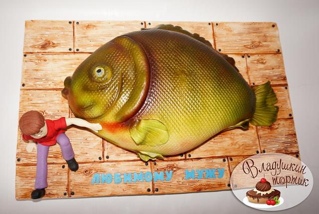 "торт ""рыба мечты"""