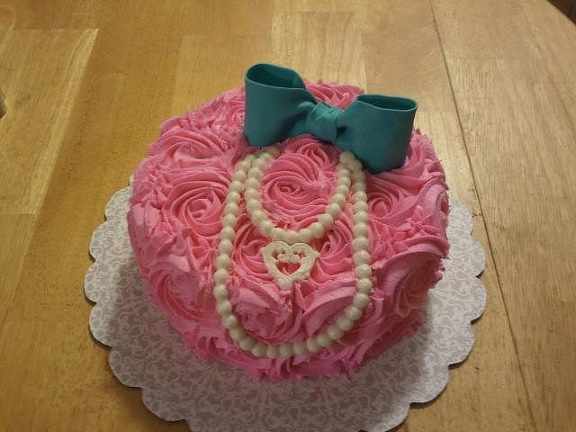 Pink Rosette Shabby Chic