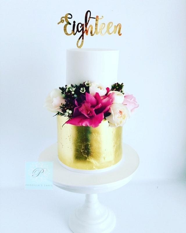 Taylor's 18th Birthday Cake