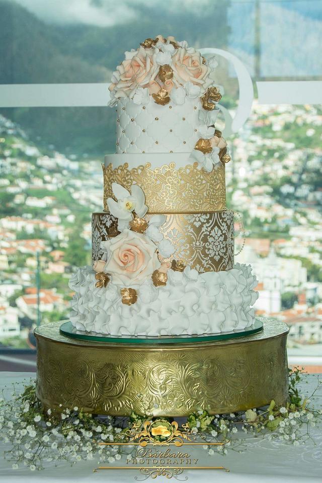 Wedding Cake in Funchal