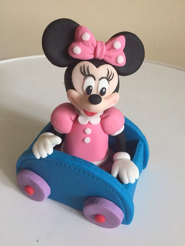 Mickey and friends cake toppers for Alex