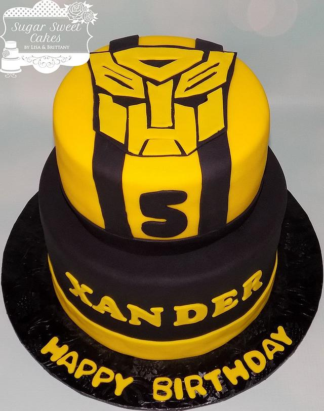 Awe Inspiring Bumblebee Transformers Cake By Sugar Sweet Cakes Cakesdecor Funny Birthday Cards Online Inifofree Goldxyz