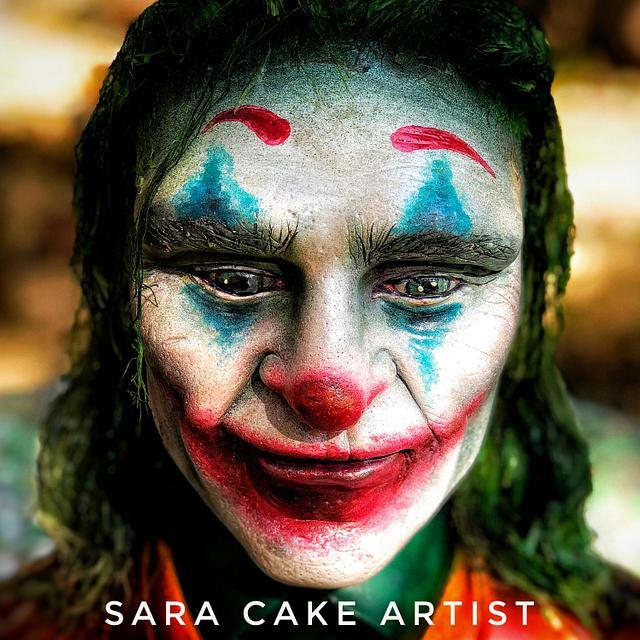 Joker Bust cake