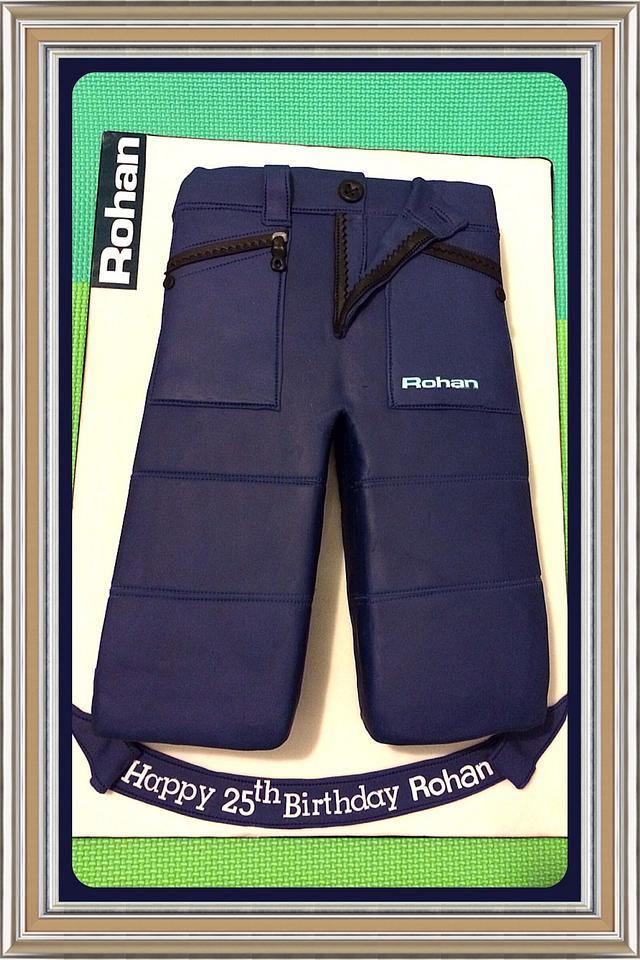 Rohan Trousers Cake