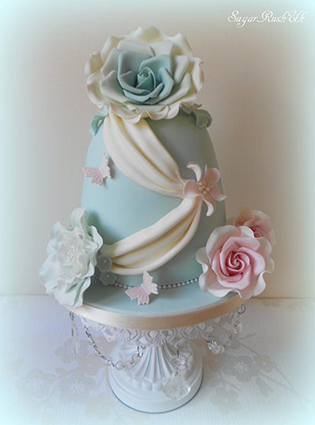 Flower Fusion Cake