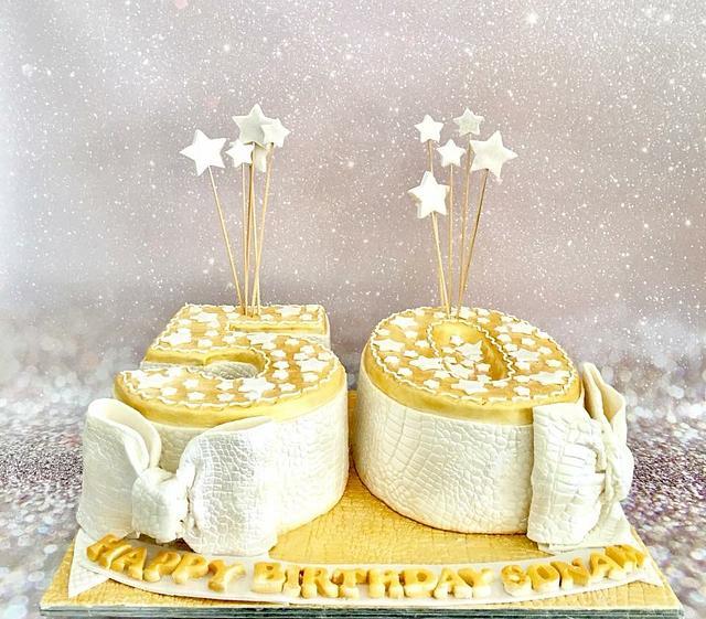 50 th birthday cake