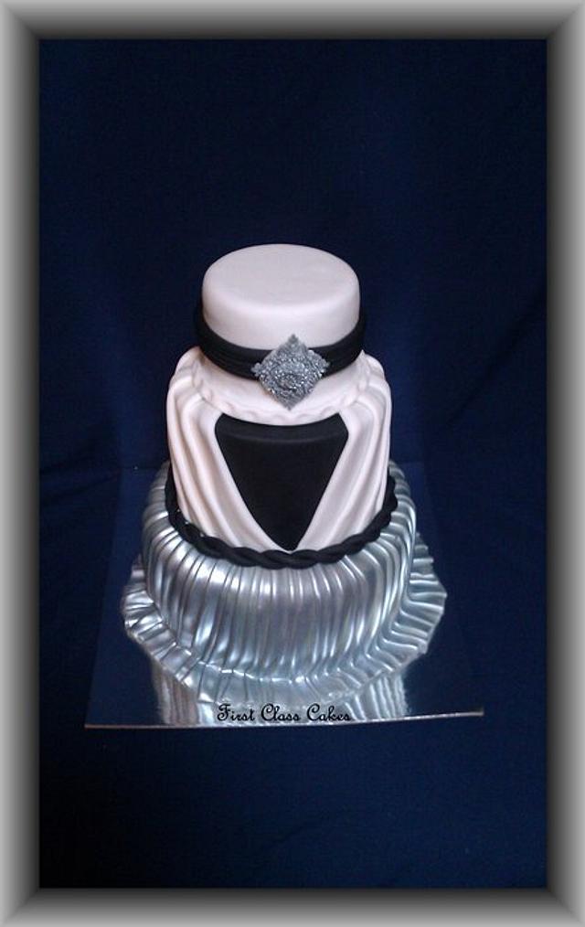 Pleated Dress Cake
