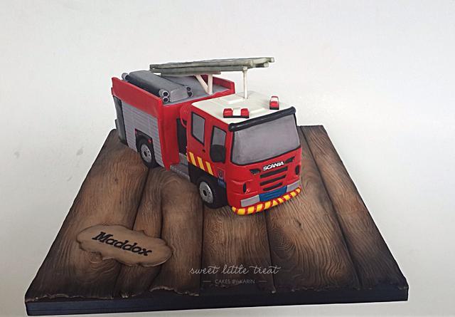 New Zealand fire truck