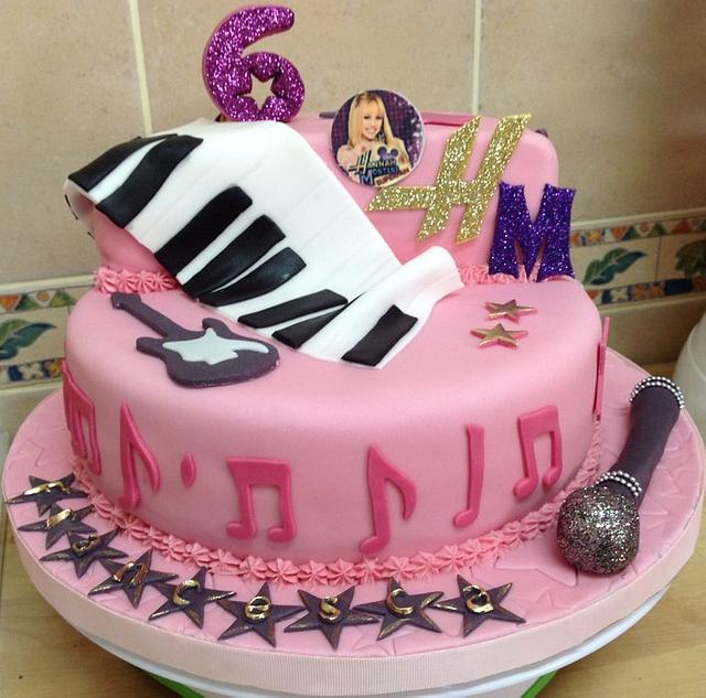 Pleasing Hannah Montana 6Th Birthday Cake Cake By Mariastubbs Cakesdecor Birthday Cards Printable Inklcafe Filternl