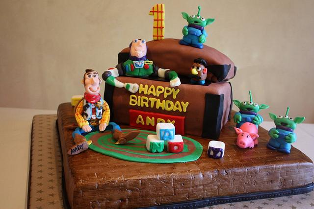 Toy Story 1st Birthday Cake
