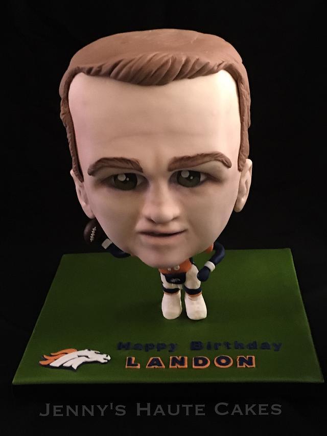 Peyton Manning Cake