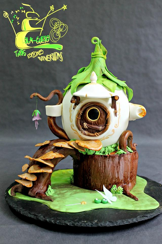 Tinkerbell's teapot house / Casa-Tetera de Campanilla