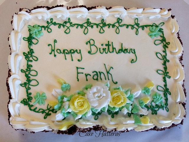 Outstanding Shamrock Birthday Cake By Donna Tokazowski Cake Cakesdecor Birthday Cards Printable Trancafe Filternl