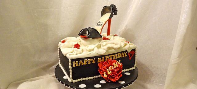 Christian Louboutin Birthday cake