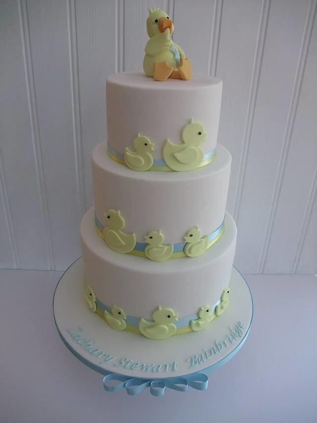 Cute Christening Cake