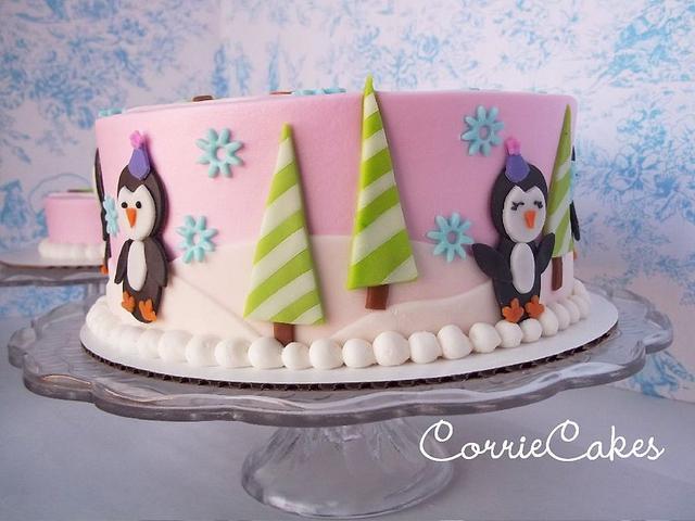 1st birthday Penguins