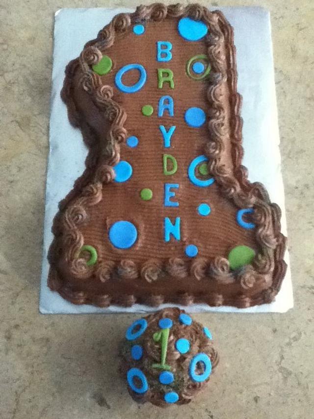 Chocolate First Birthday