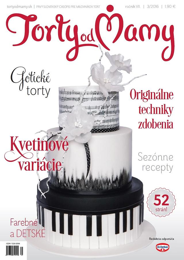 Music cake..