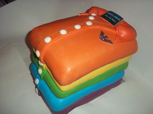 Groovy Gay Birthday Cake By Femmebrulee Cakesdecor Funny Birthday Cards Online Overcheapnameinfo