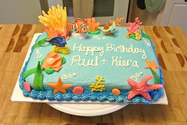 Sensational Nemo Birthday Cake Cake By Wendy De La Cruz Cakesdecor Funny Birthday Cards Online Drosicarndamsfinfo