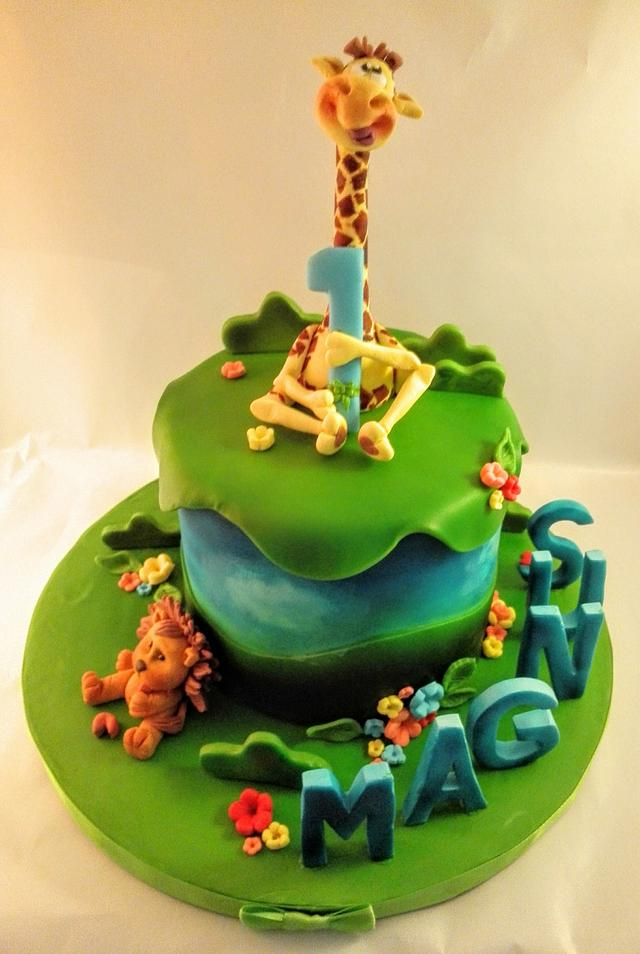 Birtday cake for boy