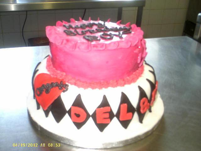 Engagement/Birthday cake