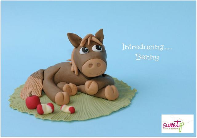 Incredible Horse Cake Topper Cake By Sweetp Cakes And Cookies Cakesdecor Personalised Birthday Cards Xaembasilily Jamesorg