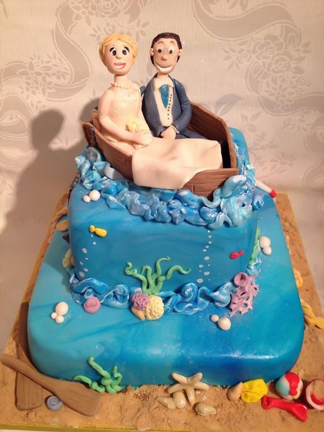 Underwater/beach themed wedding my first!!!
