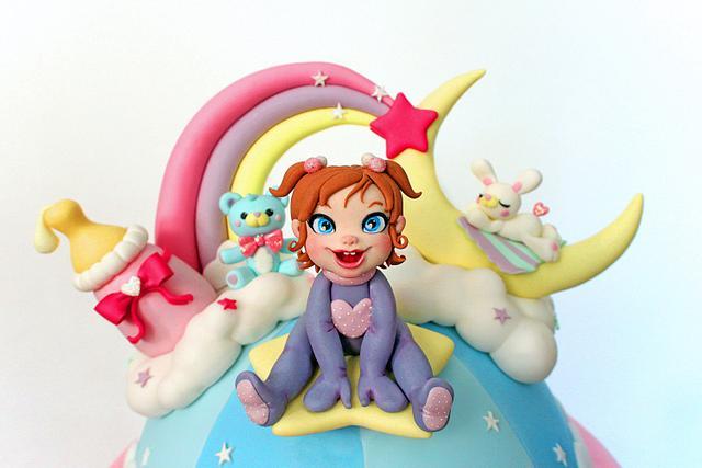 Childhood fantasy cake