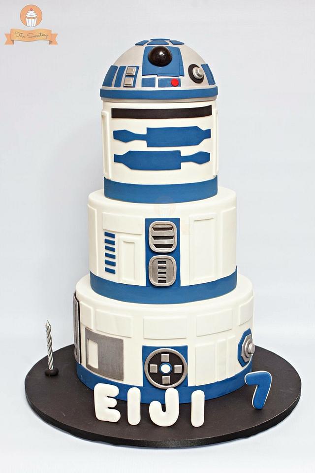 Star Wars Cake -R2D2