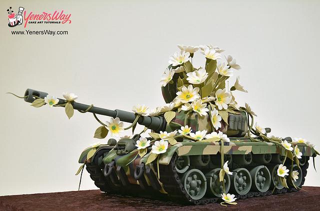 3D Tank Cake