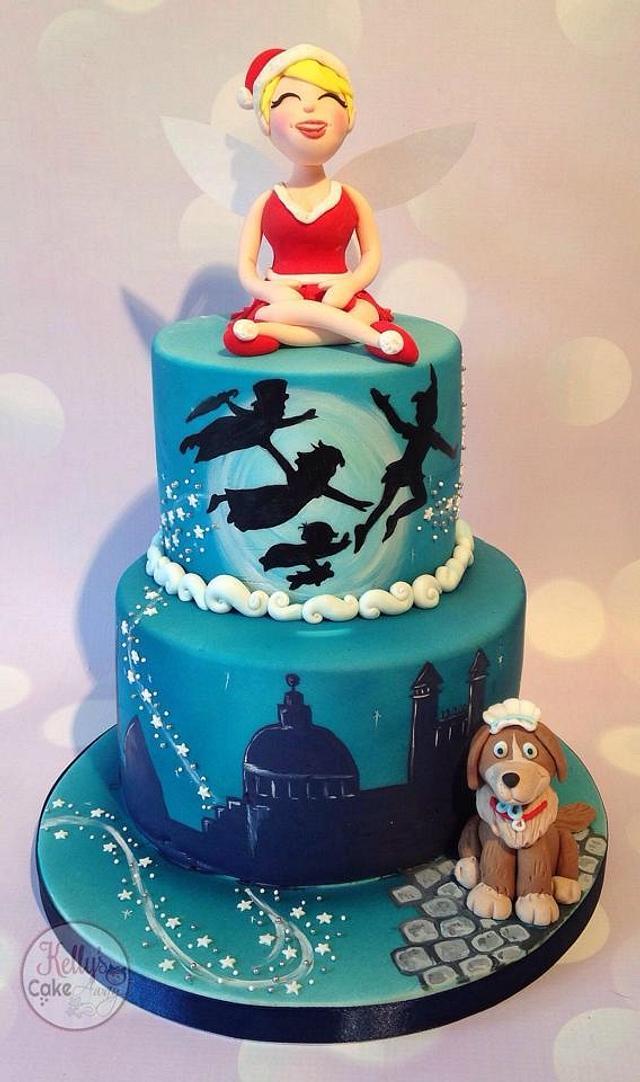 Peter Pan Christmas cake