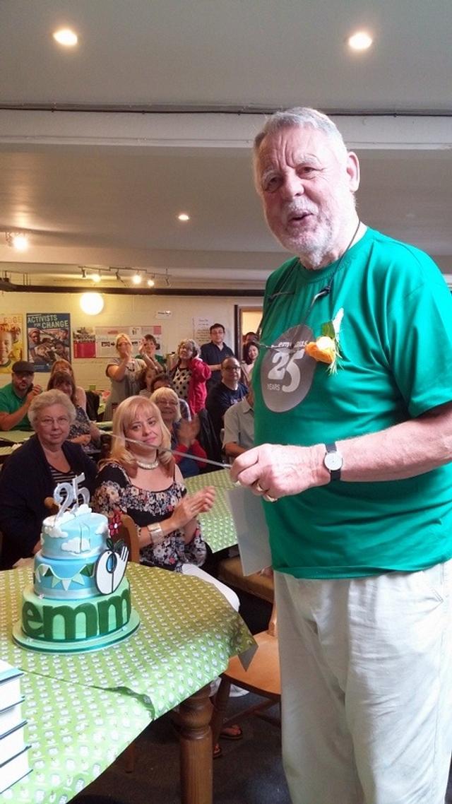 Emmaus 25th Anniversary cake