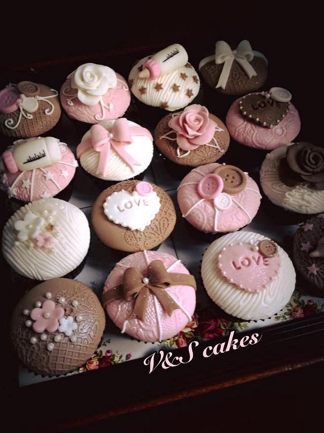 Baby Shower cupcakes