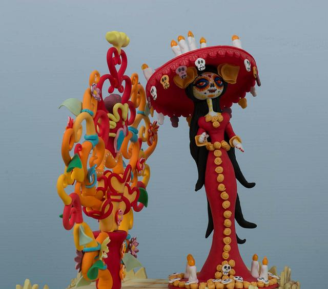 La Muerte's Pumpkin (Showpiece)