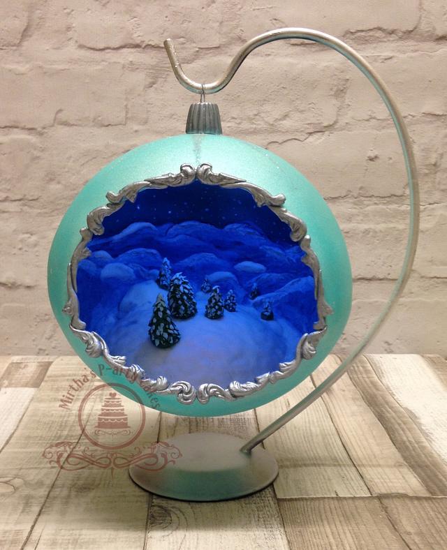 3D Christmas Bauble