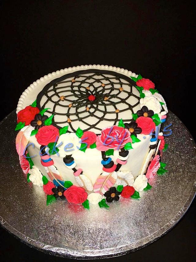 Dream Catcher Birthday Cake