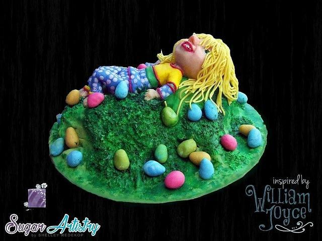 Little Sophia Bennett - William Joyce Cakes