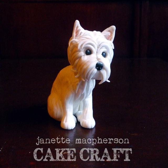 Wedding Cake Topper Dog Cake By Janette Macpherson Cake Cakesdecor