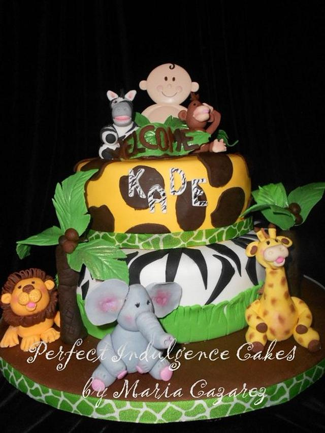 Baby Shower-Jungle Theme Baby Kade