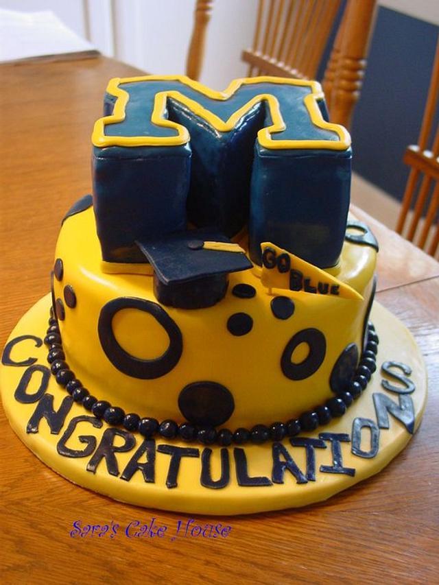 University of Michigan Cake