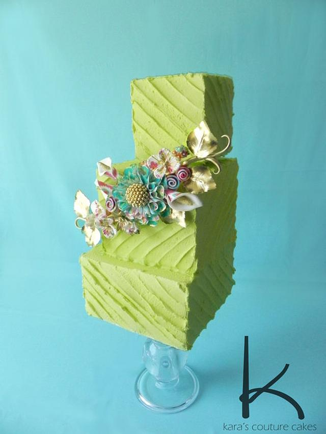 Cake Central Winning Entry for Lucks Edible Images Contest