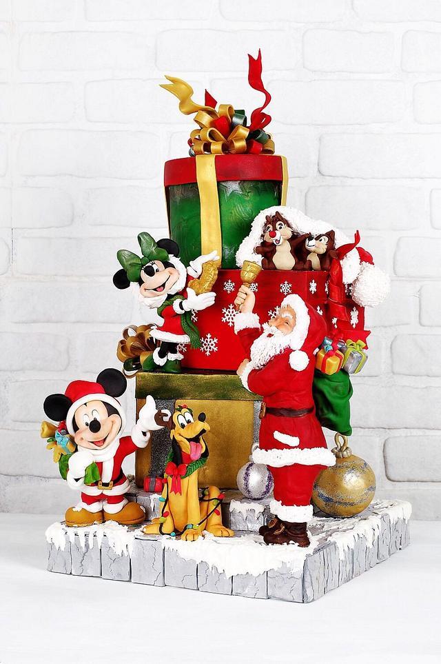 Disney  noel cake