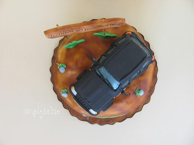 Cake jeep